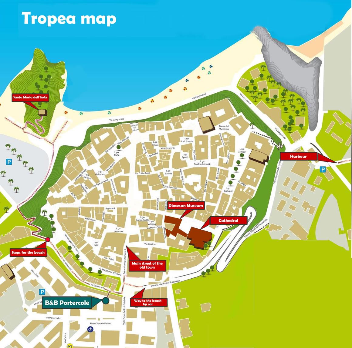Location Portercole Tropea